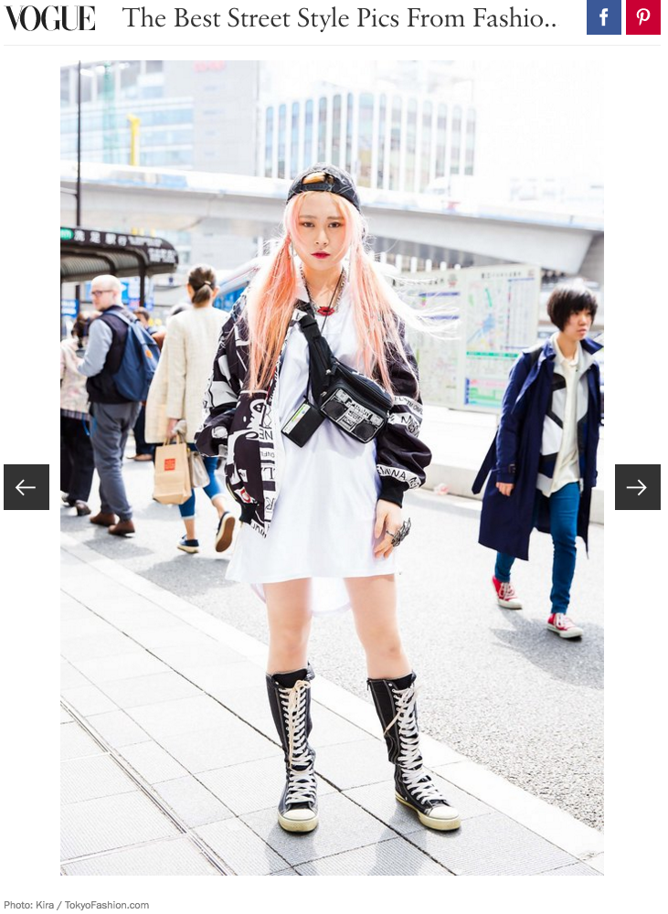 VOGUEスナップの撮影 / Tokyo Fashion Week2016