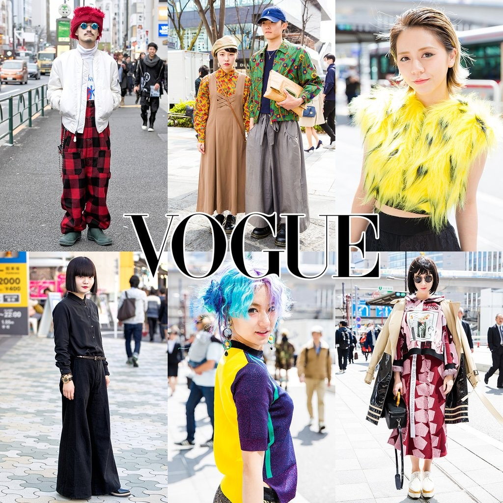 VOGUE-Tokyo Fashion Weekスナップ