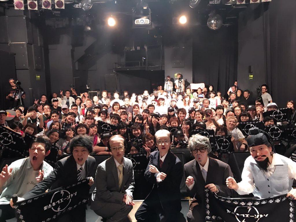 ハイパーヨーヨ x 日本エレキテル連合のライブ動画撮影