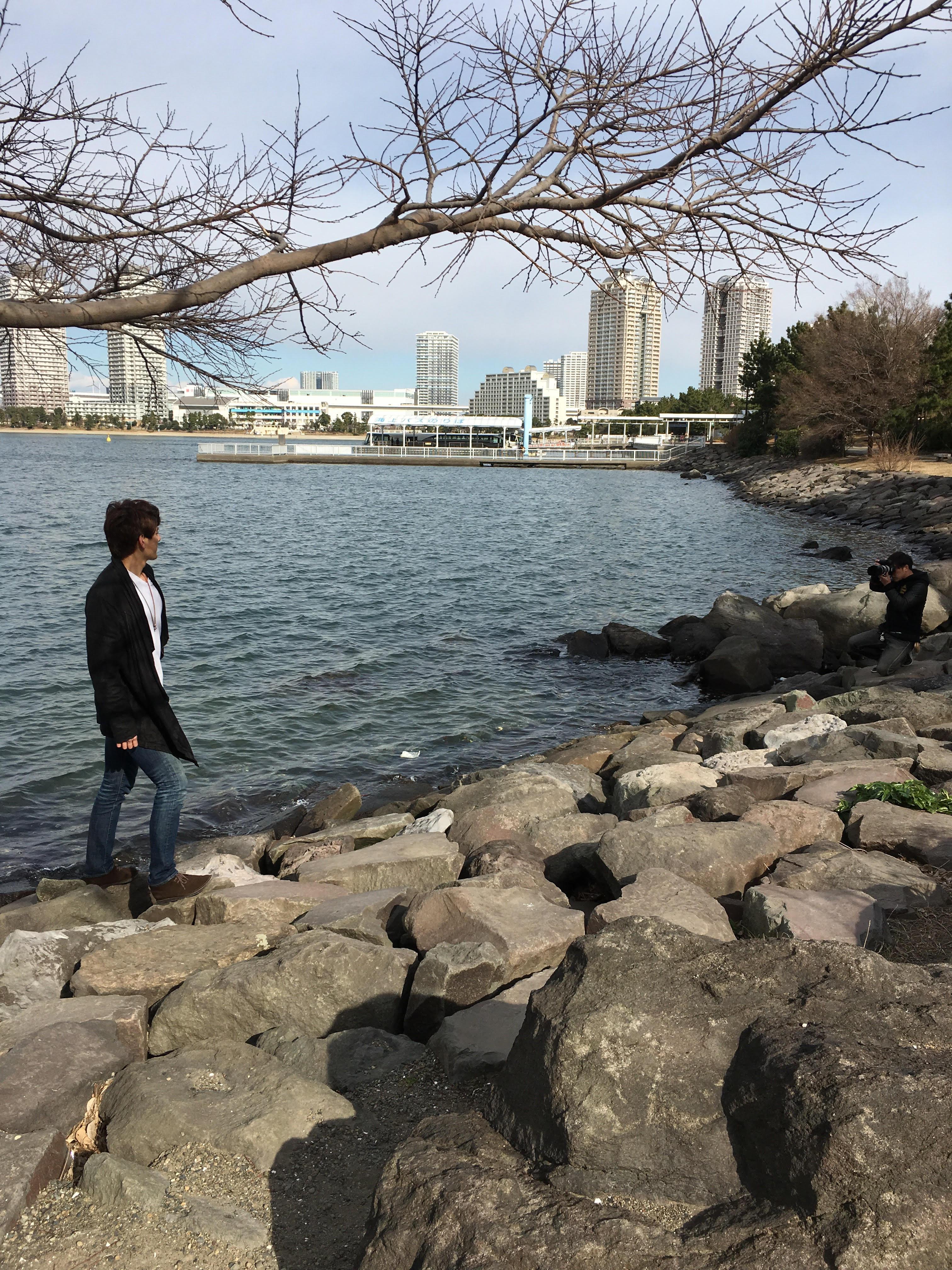 役者 佐々木崇さんのブロマイド撮影