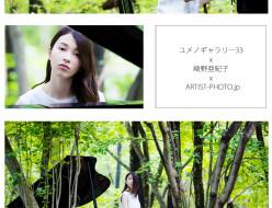 ユメノギャラリー33 x 崎野亜紀子