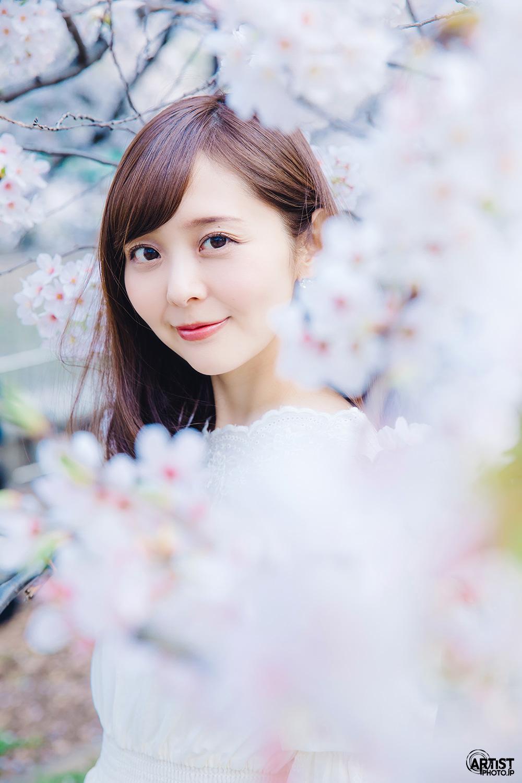 かとう唯 x 桜 アー写