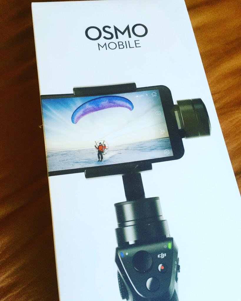 OSMO mobileテスト撮影