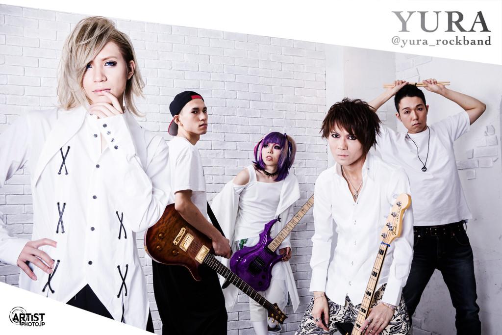バンド ユラのアーティスト写真撮影